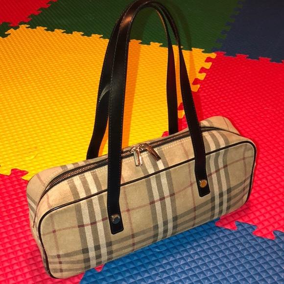 f670ca750df1 Burberry Handbags - Authentic Burberry Suede Shoulder Bag with Code